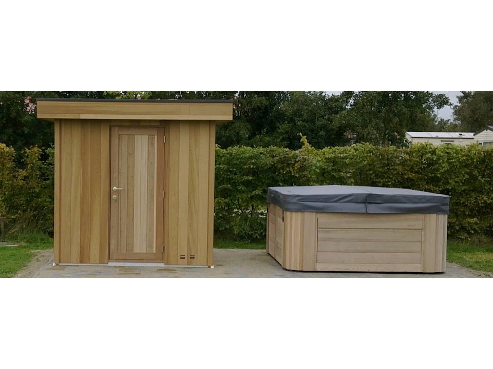 Sauna met Spa