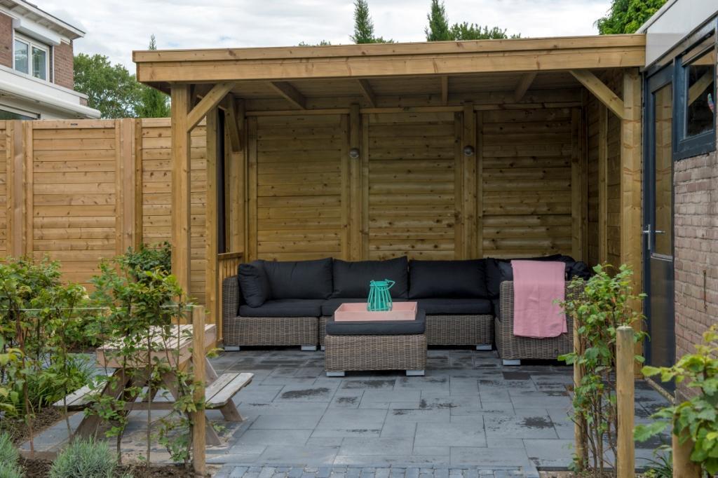 Buitenverblijf geimpregneerd hout Middelburg